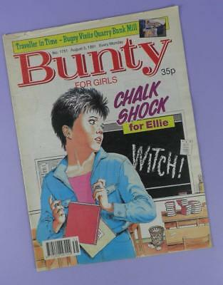 Bunty Comic Number 1751, August 3rd 1991 Includes Balthazar Getty Poster