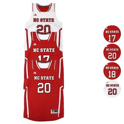 037694c20b4c NC State Wolfpack NCAA Home   Away Basketball Replica Jersey Collection -  Men s