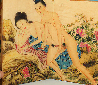 Chinese Paper Painting Ming dyanty King Life love Statue different Picture