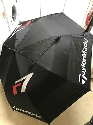 Taylormade R7 54 Inch Double Canopy Golfing Umbrella Excellent Condition.