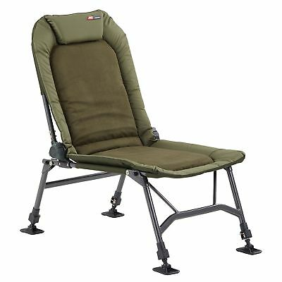 Fox Fx Super Deluxe Recliner Chair With Arms New Fishing