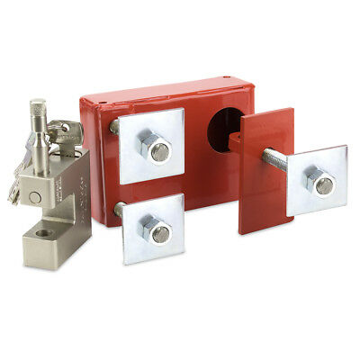 Shipping Container Lock Box Complete With Fortxlocks Goliath Lock