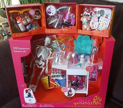 New Our Generation Life Science Set Biology For American Girl Dolls