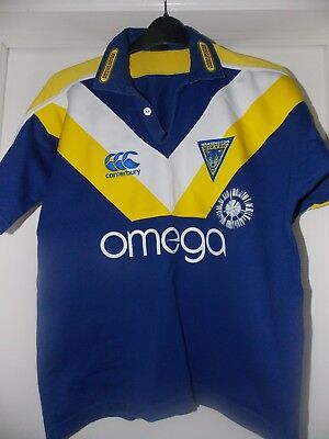 CCC Vintage Warrington Rl home shirt 2007 side on tag Small  approx 38 chest