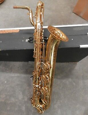 Vintage WT Armstrong Heritage Low A Bari Sax Baritone Saxophone !NoReserve!