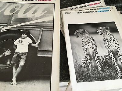 THE BRITISH JOURNAL OF PHOTOGRAPHY All 52 ISSUES for 1972 Weekly publication