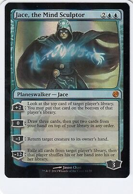 "Magic the Gathering MTG Jace the Mind Sculptor ""From the Vault 20"" FOIL JTMS"