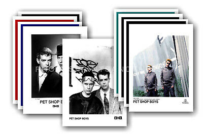 PET SHOP BOYS  - 10 promotional posters - collectable postcard set # 6
