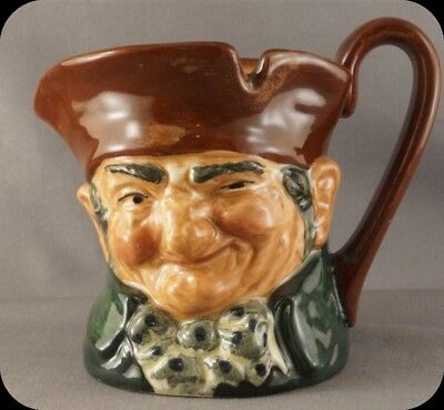 Vintage Hand Painted Royal Doulton Old Charlie Jug Toby Mug Old Mark