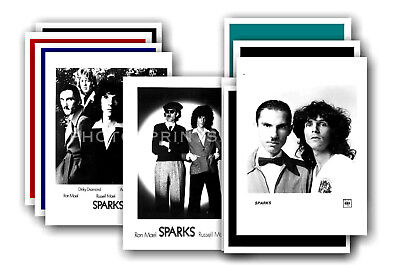 SPARKS - 10 promotional posters  collectable postcard set # 5