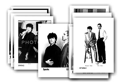 SPARKS - 10 promotional posters  collectable postcard set # 6