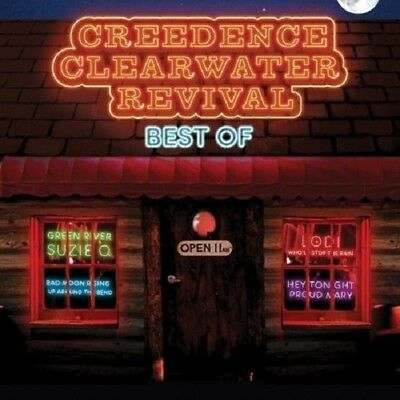 Creedence Clearwater Revival Best Of CD NEW 2008 Bad Moon Rising/Proud Mary+