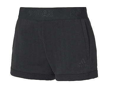 Pantaloncini Donna Adidas  Bq1651  Away Day Short Black