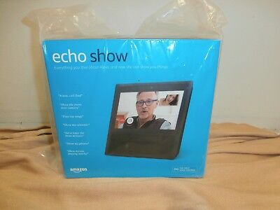 "Amazon Echo Show Black Alexa 7"" Touchscreen FREE SHIPPING!"