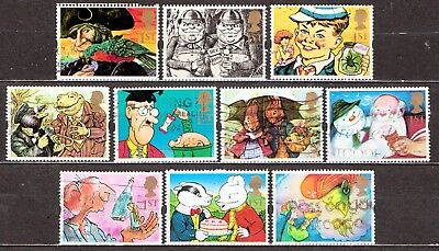 QEII 1993 Greetings stamps  Gift Giving used set (j368)