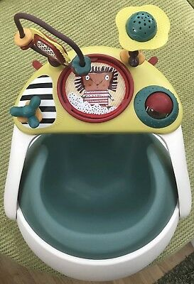 Mamas And Papas Baby Snug - Booster Seat - High Chair - Includes Activity Tray.