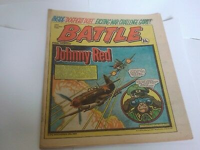BATTLE ACTION Comic 10th October 1981