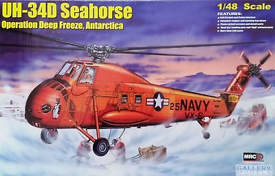 MRC UH-34D Seahorse Operation Deep Freeze Antarctica 1:48 Bausatz Kit 64106