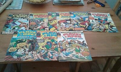 Marvel comics, PLANET OF THE APES,101-109,complete run,1976.