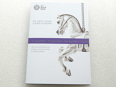 2016 My First Coins Baby Gift and Journal Brilliant Uncirculated 8 Coin Set Pack