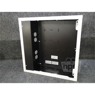 Chief PAC526FWP4 In-Wall Storage Box w/4 Receptacle, 125V, 15A