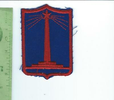 WWII Nebraska   State Guard   patch  embroidered on twill