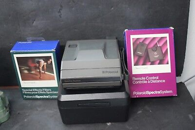 Polaroid Spectra Land Camera System Filters & Remote