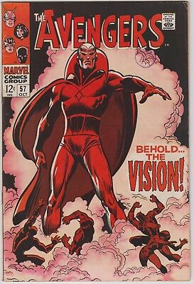 Avengers #57 - first Vision