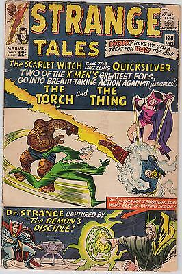 Strange Tales # 128, Human Torch, Dr Strange, Quicksilver & The Scarlet Witch