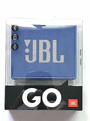 JBL GO Wireless Bluetooth Speaker Speakerphone 5-Hour Rechargeable Battery BLUE
