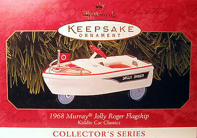 "Hallmark 1999  Murray Jolly Roger  Flagship #6  In ""kiddie Car Classics""  Series"
