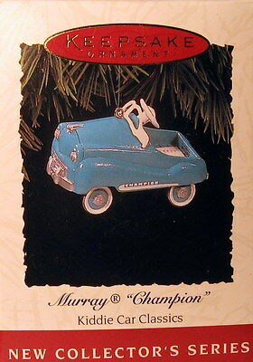 "Hallmark  1994  Murray Champion  #1  In  The  ""kiddie Car Classics""  Series"
