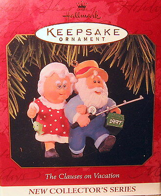 Hallmark 1997 The Clauses On Vacation  #1  In  That  Series