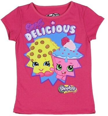 Girls~Licensed Shopkins Simply Delicious Top~New~ Sz 6
