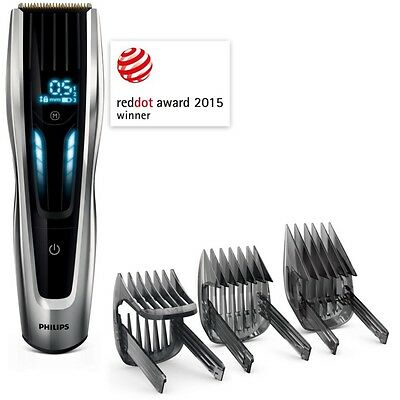 PHILIPS HC9450/15 Mens Cordless TITANIUM HAIR CLIPPER & BEARD TRIMMER  *NEW*