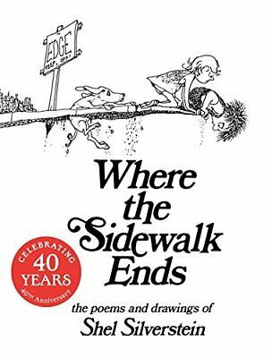 Where the Sidewalk Ends by Silverstein, Shel Paperback Book The Cheap Fast Free