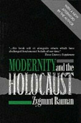Modernity and the Holocaust by Bauman, Zygmunt Paperback Book The Cheap Fast