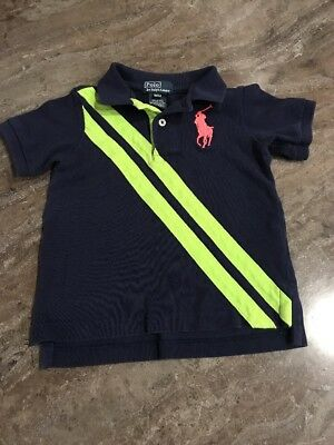 Ralph Lauren Short Sleeve Big Pony Girls 24 Month Polo Shirt