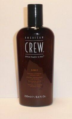 American Crew  CLASSIC  3-IN-1 Shampoo Conditioner  & Body Wash 250ml
