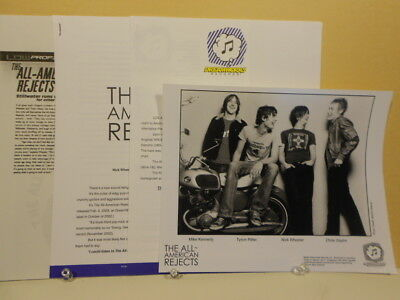 All-American Rejects - Swing ORIGINAL PRESS KIT with PHOTO 2003 Dreamworks