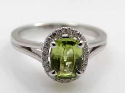 Ring 1,18 Karat Brillanten Chrysoberyll 750 Gold IGI Expertise