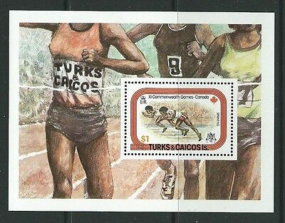 Turks & Caicos Is. Sgms513 1978 Commonwealth Games Mtd Mint