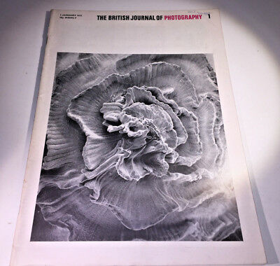 A classic copy of  The British Journal of Photography, dated 7th January 1972