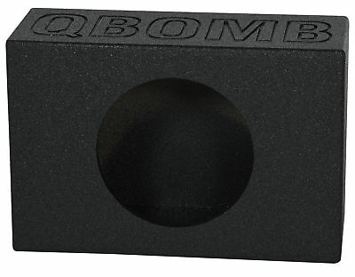 "Rockville RQT12V Single 12"" Side Ported Shallow Slim Subwoofer Sub Box Enclosure"