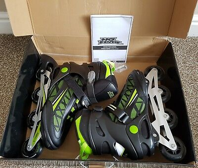 No Fear Roller Blades Inline Fitness Skates  Size UK 12  Very good condition