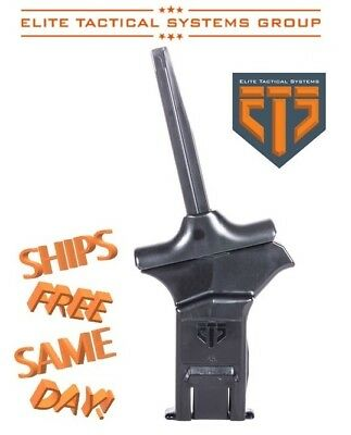ETS Elite Tactical Systems C.A.M. Magazine Loader Polymer Black ETSCAM-45