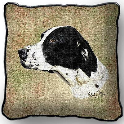 """17"""" x 17"""" Pillow - Pointer by Robert May 1164"""