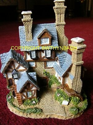New Design Rubber Latex Mould Mold Fairy Fairie Tudor Mansion House Dwelling B