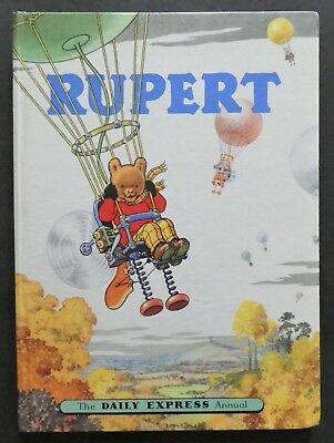 Rupert Annual 1957..original..not Inscribed Or Clipped...paint Contest Untouched