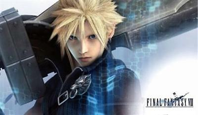 FINAL FANTASY VII ~ BIG SWORD! ~ 24x36 VIDEO GAME POSTER ~ NEW/ROLLED!